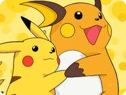 Raichu & Pikachu