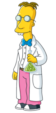 The Simpsons Professor Frink