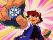 Ash gets the Glacier Badge