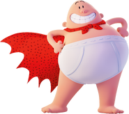 Captain underpants movie character