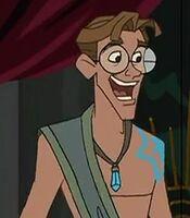 Milo James Thatch in Atlantis Milo's Return