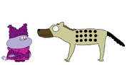 Chowder and the Hyena