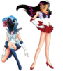 Jewel and Lady from Sailor Becky
