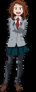 Ochaco School Uniform Full Body