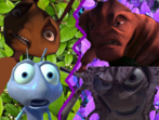 Z and Flik vs Mandible and Hopper