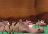 Garfield (2009) Hippo
