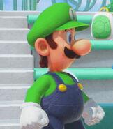Luigi in Super Mario Party.