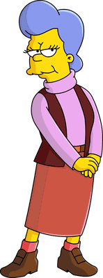 The Simpsons Mona Simpson