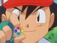 Ash gets the Rainbow Badge