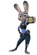 Judy Hopps As Batgirl