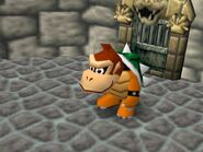 Mario Party 64 dk with bowser clothe
