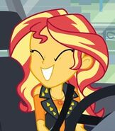 Sunset Shimmer in My Little Pony- Equestria Girls Better Together