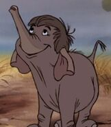 Hathi Jr. in The Jungle Book