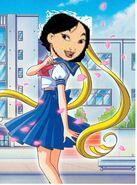 Mulan as serena tsukino