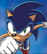 Sonic the Hedgehog in Sonic X
