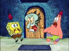 Spongebob, Squidward, and Patrick