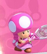 Toadette in Mario Tennis Aces