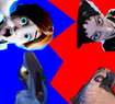 Blu and Felicie vs Regine and Nigel