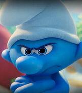 Grouchy Smurf in Smurfs The Lost Village
