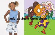 Kady (from My Wife & Kids) as Susie Carmichael