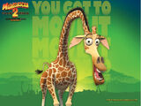 Melman the Giraffe