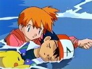 Misty rescues Ash