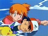 Misty Rescues Ash