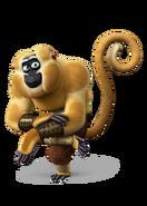 Monkey kung fu panda 3