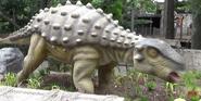 San Antonio Zoo Ankylosaurus