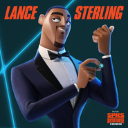 Lance In Spies in Disguise