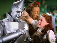 Tin Thing starts to get heartbroken while saying goodbye to Dorothy
