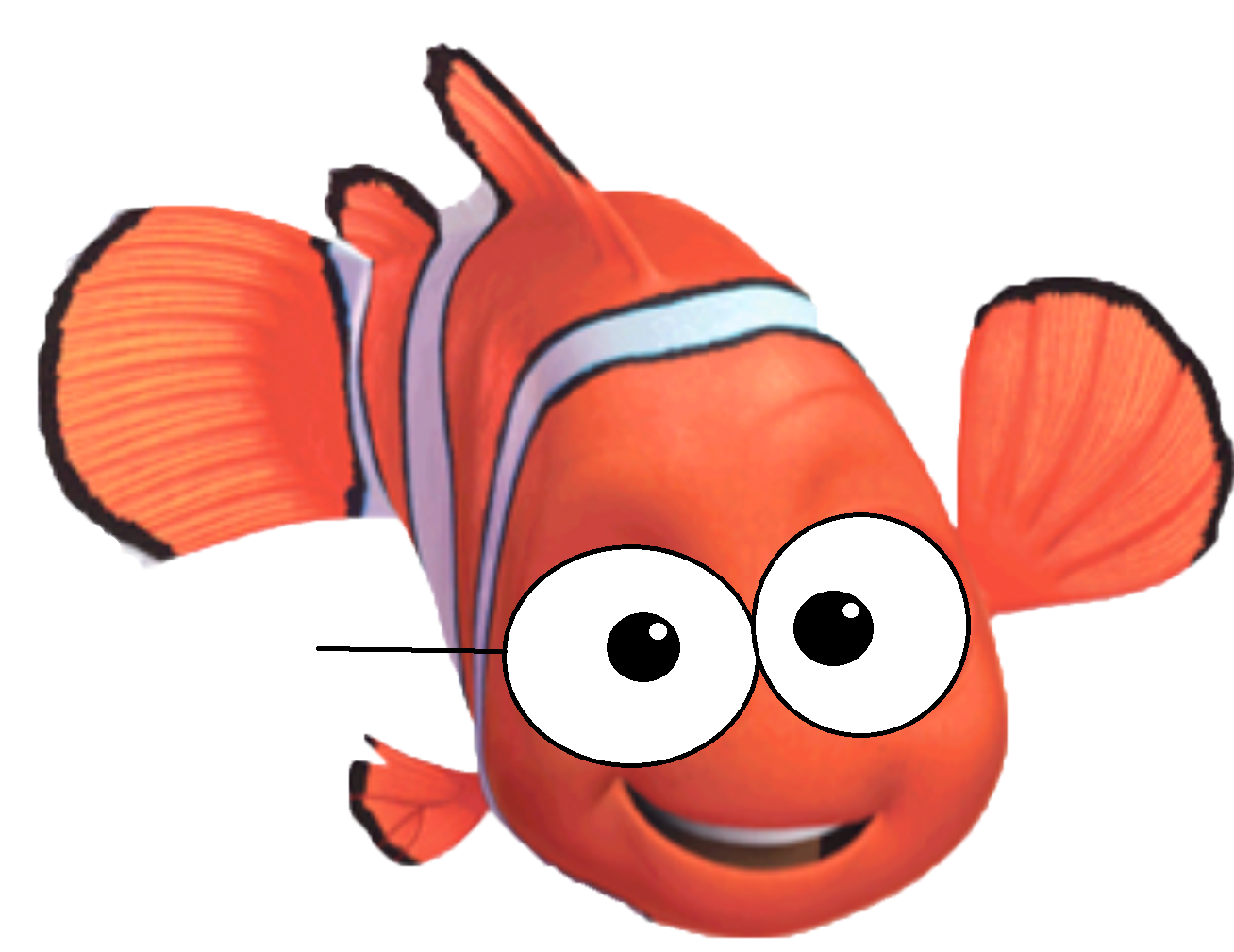 Finding Nemo Characters Clipart 1