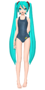 Dreamy theater 1st swimwear s miku by tuni kun dazkyx2-pre