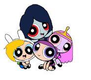 Powerpuff Adventure Time Girls