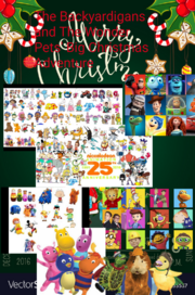 The Backyardigans and The Wonder Pets' Big Christmas Adventure Poster