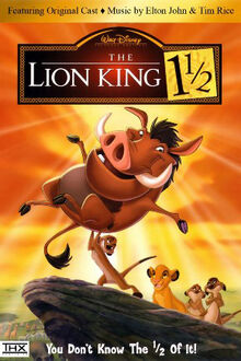 The Lion King 1½ English Poster