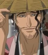 Shunsui Kyoraku in Bleach The DiamondDust Rebellion