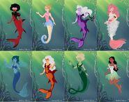 Steven Universe Mermaids