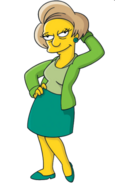 The Simpsons Edna Krabappel