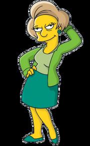 The Simpsons Edna Krabappel