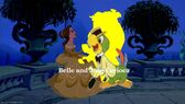 Belle and Jose Carioca Logo