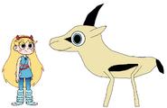 Star meets Grant's Gazelle