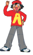 Ash ketchum as alvin sellive