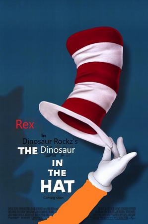 Dinosaur in the hat