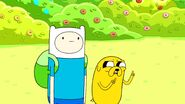 Finn and jake seeing at witch garden