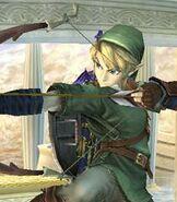 Link in Super Smash Bros Brawl