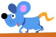 Mouse hickory dickory dock super simple songs