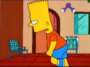 Mr. Bart Simpson walks away.