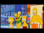 The Simpsons in Swimsuits