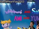 Wallykazam and Sabrina and Ami and Yumi Little (Chicken Little) (DavidPeartFan2003 Back Up)